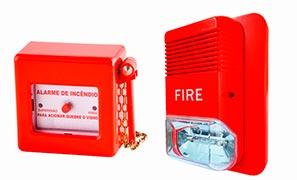 Sistema de alarme e detecção de incêndio