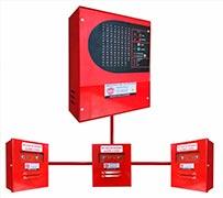 Central de alarme de incêndio gst