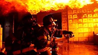 Aula de resgate para bombeiros