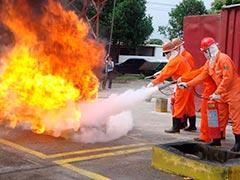 Treinamento para brigadistas de incêndio