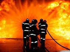 Treinamento da brigada de incêndio