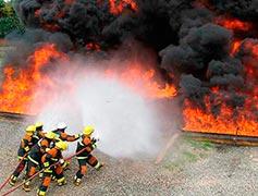 Curso de emergência com produtos perigosos