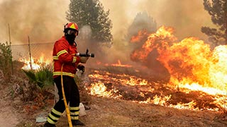 Sinalizador áudio visual incêndio