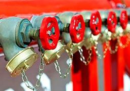Manutenção em sistema de alarme de incêndio