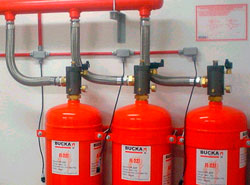 Sistemas de incêndio para painéis elétricos