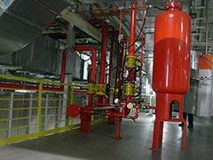 Sistema de incêndio water spray ul fm