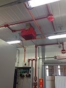 Sistema automático de combate a incêndios