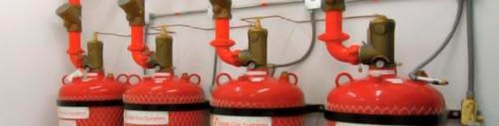 Sistema de incêndio fm-200