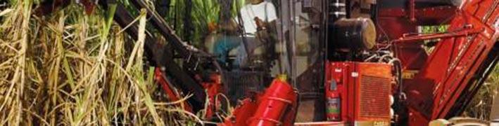 Sistema de incêndio para colhedoras