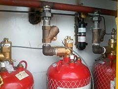 Sistema de combate a incêndio predial