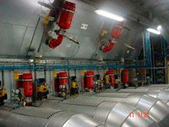 Sistemas anti explosão incêndio