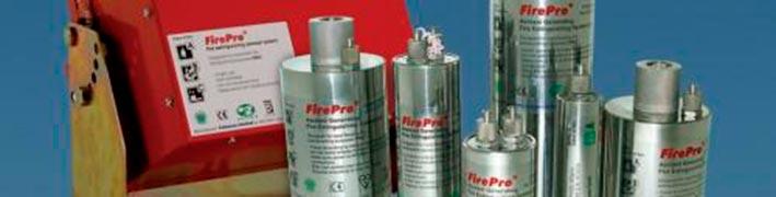 Sistemas de incêndio aerosol