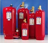 Sistemas de incêndio com agentes limpos