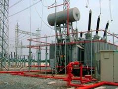 Sistemas de incêndio para transformadores