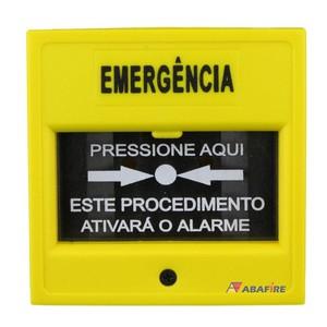 Botoeiras de emergência com proteção