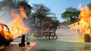 Curso de incêndio