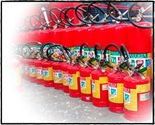 Distribuidor de extintores de incêndio