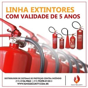 Extintor de incêndio de água