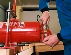 Fábrica de extintores de incêndio