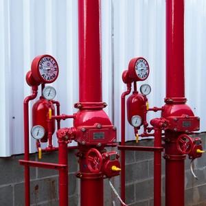 Fabricação de rede de sprinklers