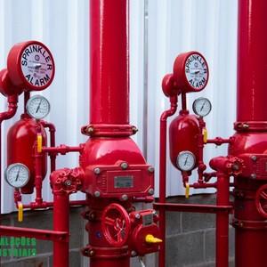 Instalação de sprinklers sp