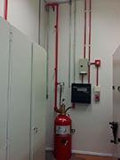 Instalação de alarme de incêndio