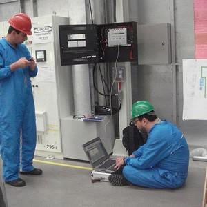 Manutenção de sistema contra incêndio MSA