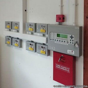 Manutenção preventiva de sistema de detecção e combate a incêndio