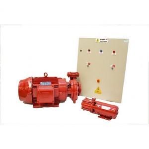Painel elétrico para acionamento de bomba de incêndio