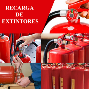 Preço de recarga de extintores