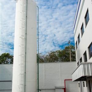 Reservatório de água para combate a incêndio