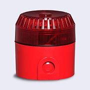 Sinalizador audio visual incêndio