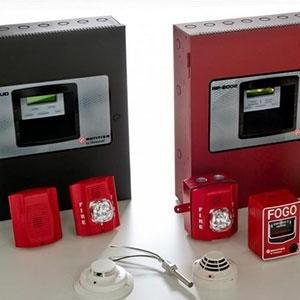Sistema automático de detecção de incêndios
