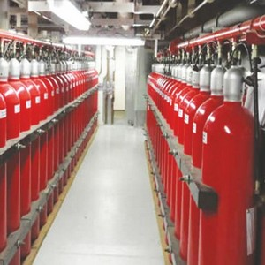Sistema detecção fixa de chama e gás
