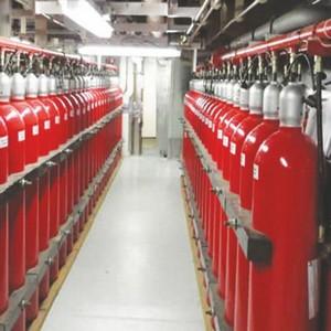 Sistema detecção fixa de gás