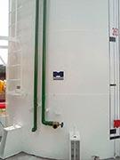 Sistema de combate a incêndio em indústrias