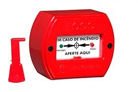 Sistema de alarme de incêndio industrial