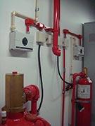 Sistema de proteção e combate a incêndio